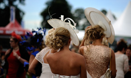 Ladies day at Doncaster