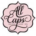 all caps logo web